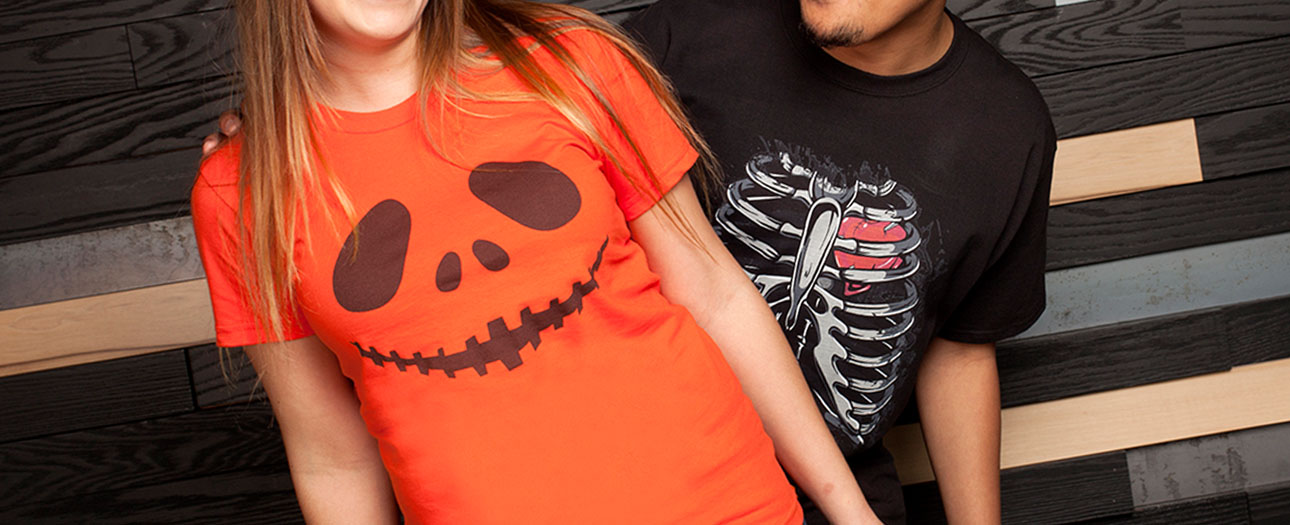 T-shirts pour Halloween