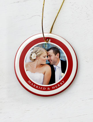 Married and Merry Ornaments