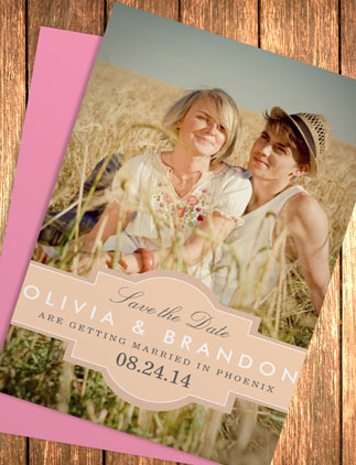 50% Off: Save the Date Cards!